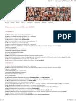 Semana  Negra, Gijón  2015, programa provisional
