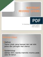 REFERAT Mioma Uteri-ghini