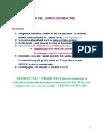 Pt Referat Operatiuni Bancare 2014