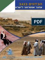 הבדווים בנגב - אתגר אסטרטגי לישראל