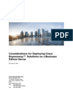 Deploying Expressway With Business Edition[1]