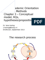 Conceptual model in Research Methods