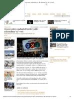 Greece Debt News