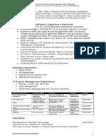 SAP BI Freelancer UK Mr Mondy Holten 7-2015
