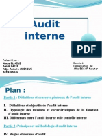 EXPOSE Audit Interne