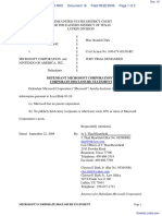 Anascape, Ltd v. Microsoft Corp. et al - Document No. 16