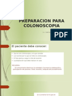 Preparacion Para Colonoscopia