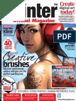 Corel Painter - 13 - Magazine, Art, Digital Painting, Drawing, Draw, 2d