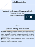 Systemic Toxicity and Hypersensitivity