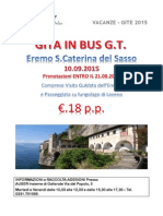 Gita Eremo di Santa Caterina del Sasso