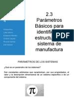 2.3 Parametros Basicos