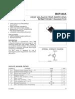 BUF420A NPN Power Transistor