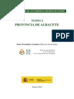CARACTERIZACIÓN DE LAS COMARCAS AGRARIAS DE ESPAÑA TOMO 4 PROVINCIA DE ALBACETE Jesús Fernández González (Director del estudio)