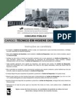 UFF Edital 297 2011 Técnico Em Higiene Dental