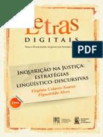 Inquirição Na Justiça. Estratégias Jurídico-discursivas - Virgínia Colares Soares F Alves
