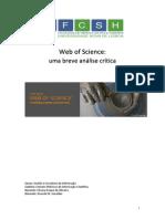 Web of Science – uma breve análise crítica