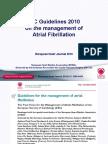 Presentasi AF Management Guideline 2010