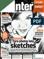 Corel Painter - 16 - Magazine, Art, Digital Painting, Drawing, Draw, 2d