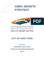 Capetown Economic Growth Strategy