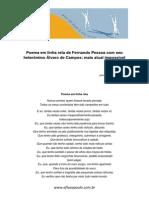 Poema Em Linha Reta de Fernando Pessoa Com Seu Heterônimo Álvaro de Campos_mais Atual Impossível