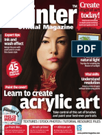 Corel Painter - 17 - Magazine, Art, Digital Painting, Drawing, Draw, 2d
