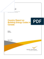 PNNL (2009) Country Report Canada