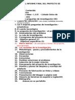 Informe Final Del Proyecto de Investigacion Escolar