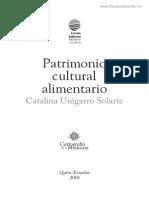 UNIGARRO - 2010 - PATRIMONIO ALIMENTARIO ECUADOR.pdf