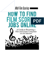 Film Scoring Jobs eBook