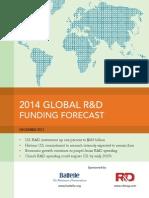 Global r&d 2014