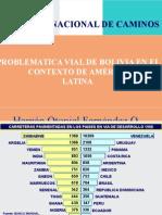 Problematica Vial Bolivia en Marco America Latina