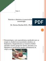 Curs 1 Dietetica in Puericultura, Neonatologie