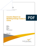 PNNL (2009) Country Report China