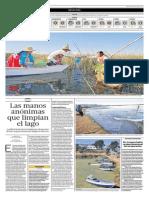 Limpieza Del Lago Titicaca