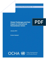 Global Challenges Policy Brief Jan10