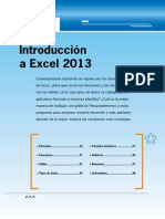Introduccion a Excel 2013
