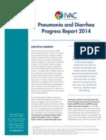 IVAC 2014 Pneumonia Diarrhea Progress Report