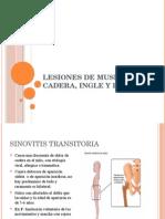 Lesiones de Muslo, Cadera, Ingle y