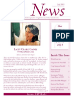 Citizens Against Homicide July 2015 Newsletter July 2015