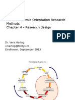 Research Design in Research Methods