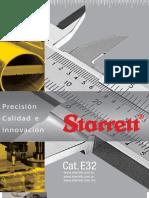E32 Starrett Catálogo de herramientas