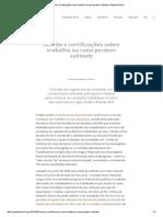 Acordo e Certificações Sobre Trabalho Na Cana Perdem Validade _ Repórter Brasil