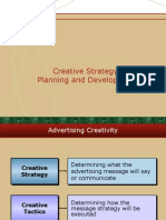 Creative Strategy Planning & Development 8