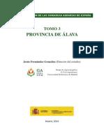 TOMO 3 PROVINCIA DE ÁLAVA Jesús Fernández González (Director del estudio)