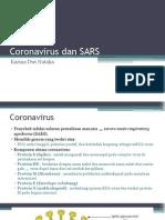 Coronavirus Dan SARS