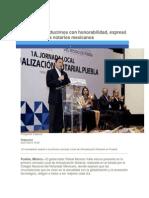 04-07-2015 Periódico Digital.mx - Debemos Conducirnos Con Honorabilidad, Expresó Moreno Valle a Notarios Mexicanos