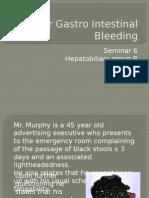 Upper Gastro Intestinal Bleeding