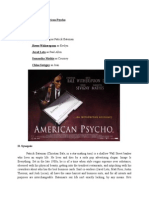 Film Review american psycho