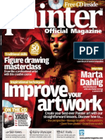 Corel Painter - 23 - Magazine, Art, Digital Painting, Drawing, Draw, 2d