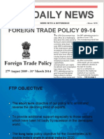 New Foreign Trade Policy 2009-14